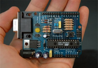 Arduino - <i>Photo by Nicholas Zambetti</i>