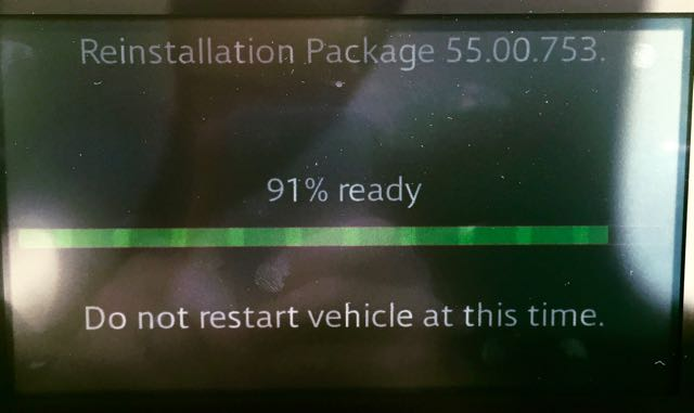 Reinstallation Package 55.00.753: 91% ready