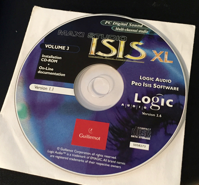 ISIS XL Installation CD